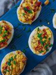 jajka faszerowane suszonymi pomidorami