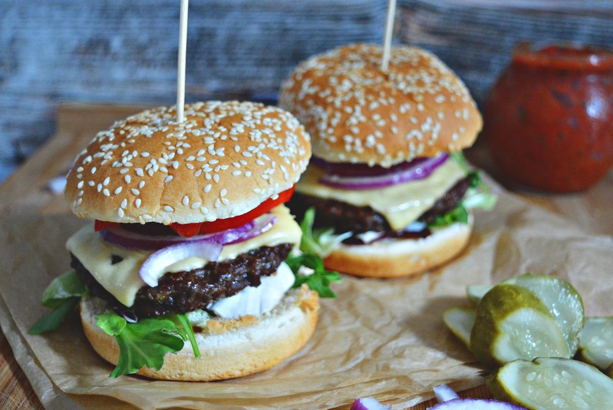 domowe burgery przepis